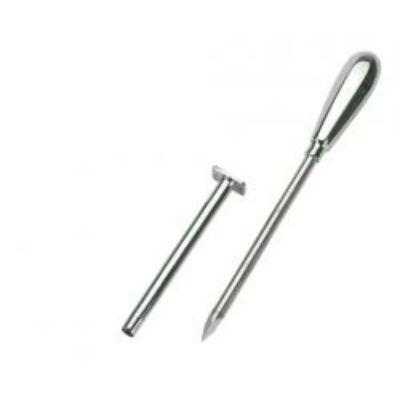 Szúrcsap, tű hossza 9 cm, átm. 5 mm