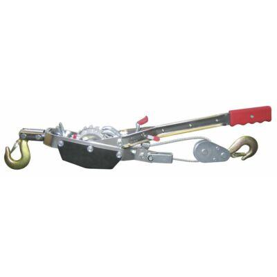 Feszítő csörlő Hand Power Puller, 3 m kötél, átm. 5 mm