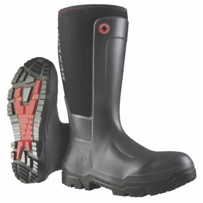 Dunlop Snugboot WorkPro Full Safety fekete