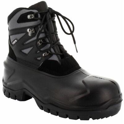 NORA Safety-Canadian-Boot UNIK LOW S5 fekete/szürke