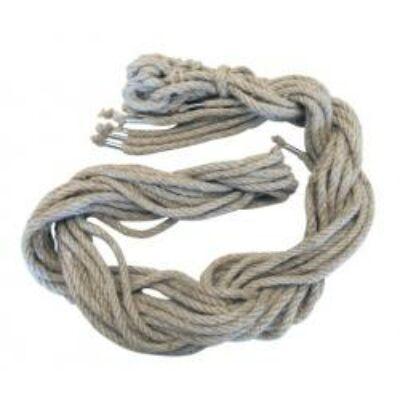 Kenderkötél, 250 cm, 4-szálú, 8 mm