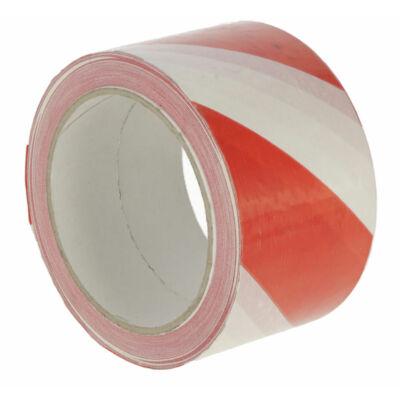 Figyelmeztető szalag vörös/fehér