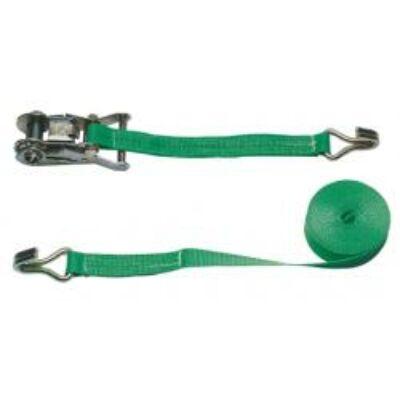 Rakomány rögzítő zöld  6m / 25mm