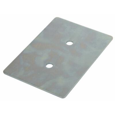Rögzítő mélyedés ellenlap szélesség 110 mm, hossz 155 mm