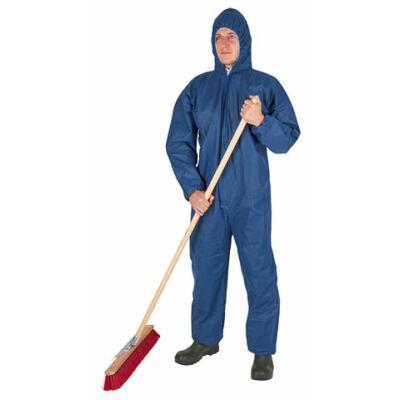 Egyszer használatos overall,  kék,
