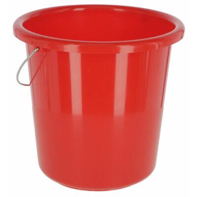 Általános vödör 10 l, vörös