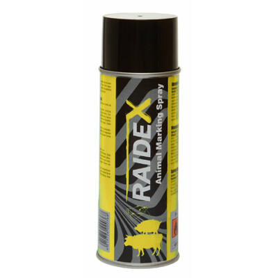 Raidex állatjelölő spray 400 ml sárga