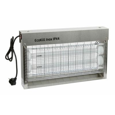 Légyirtó EcoKill Inox IPX4, 2 x 15 W
