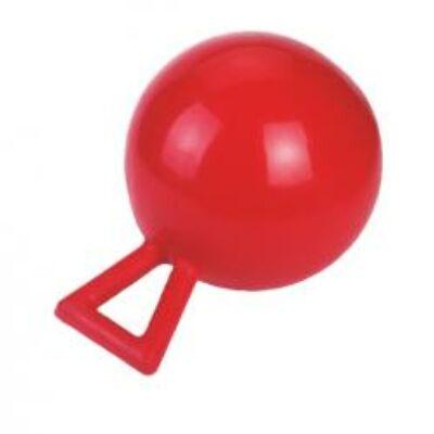 Játéklabda lónak piros 25 cm