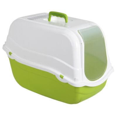 toalett, 57 x 39 x 41 cm, zöld/fehér