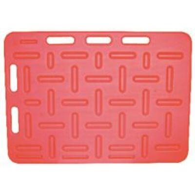 Terelő lemez, piros 94x76 cm