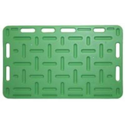 Terelő lemez 126x76 cm zöld