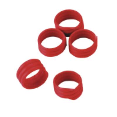Lábgyűrű 16 mm , vörös