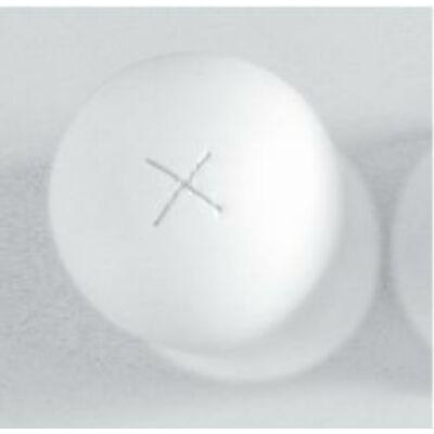 Borjúcumi kereszthasítékkal,100 mm, fehér