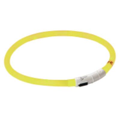 LED-es nyakörv, sárga